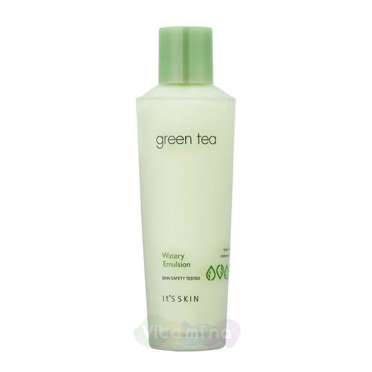It's Skin Увлажняющая эмульсия с экстрактом зеленого чая Green Tea Watery Emulsion, 150 мл