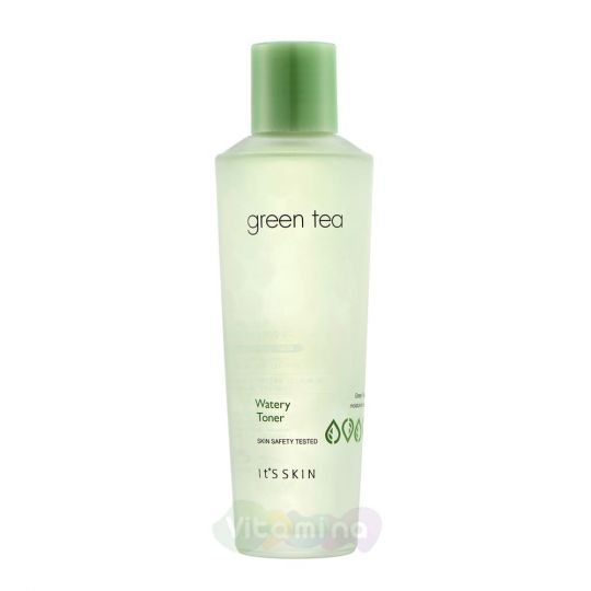 It's Skin Увлажняющий тонер с экстрактом зеленого чая Green Tea Watery Toner, 150 мл