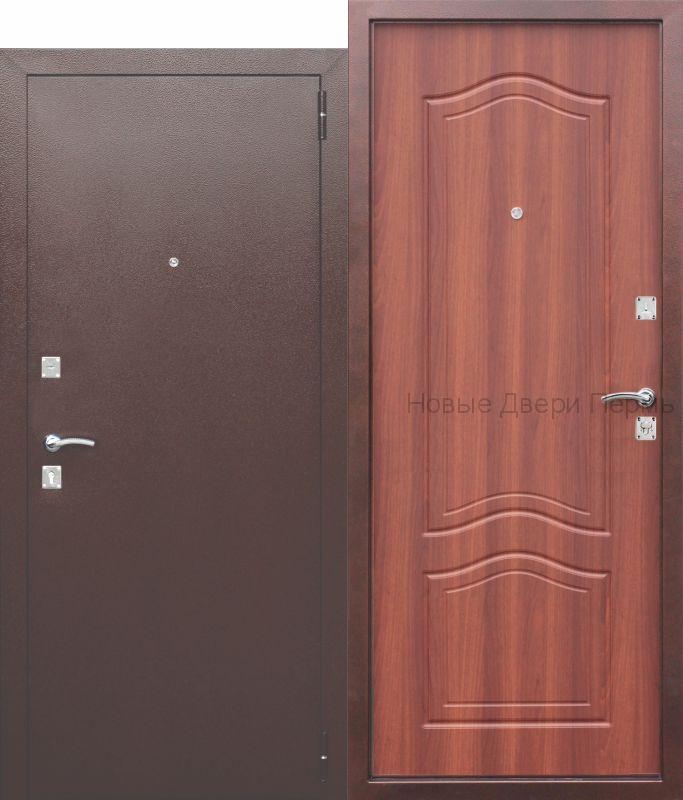 """""""Доминанта"""". Дуб рустикальный входная дверь в квартиру"""
