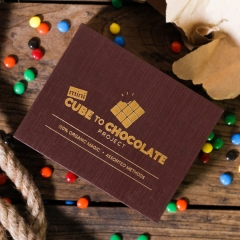 Mini Cube to Chocolate Project by Henry Harrius