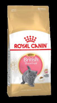 Роял канин Киттен Британская короткошерстная (Kitten British Shorthair)