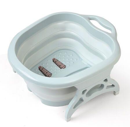 Ванночка для педикюра голубая