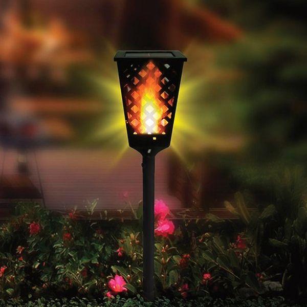 Уличный фонарь на солнечной панели Dancing Tiki Light
