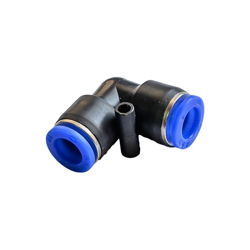 Быстросъемный угловой соединитель для шлангов на 10 мм