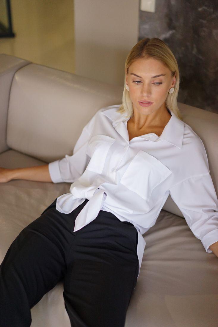 m3079 Рубашка белая (хит)