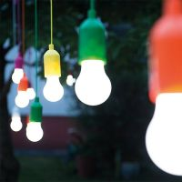 Беспроводные светодиодные лампочки со шнурком Handy lux Colors, 4 шт (4)