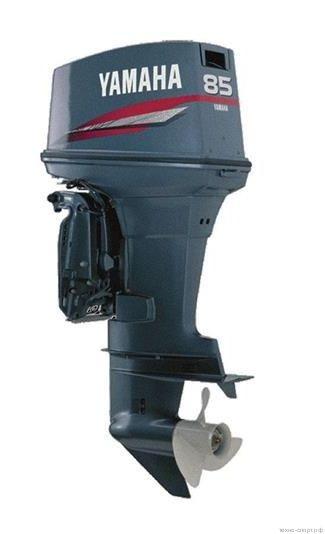 Лодочный мотор Yamaha 85AETL - 2х-тактный