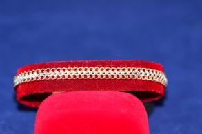 Позолоченный браслет с комбинированным покрытием (арт. 880101)