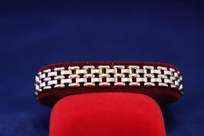 Широкий позолоченный браслет (арт. 880105)