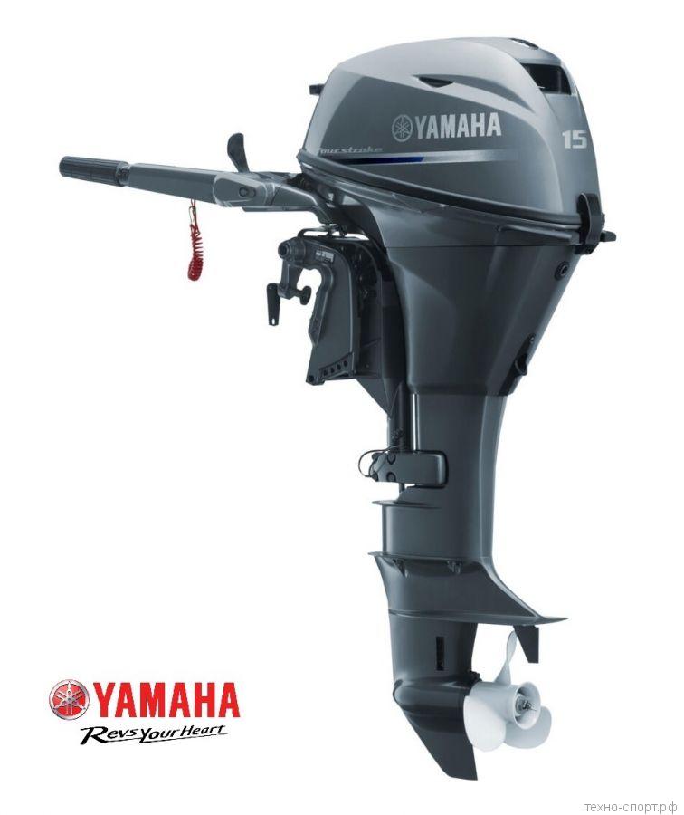 Лодочный мотор Yamaha F 15 CMHS - 4х-тактный