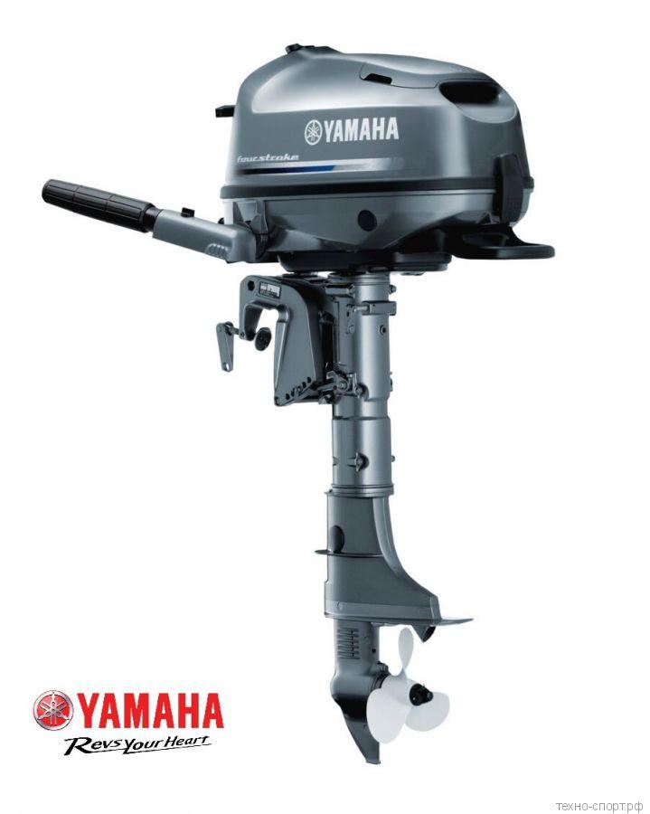 Лодочный мотор Yamaha F 5 AMHS - 4х-тактный