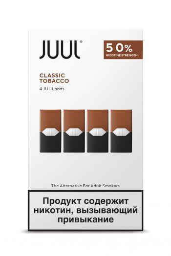 Картридж Juul Labs x4 JUUL Табак (59 мг)