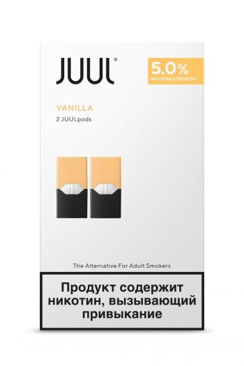 Картридж Juul Labs x2 JUUL Ваниль (59 мг)