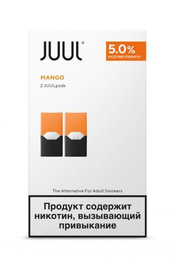 Картридж Juul Labs x2 JUUL Манго (59 мг)