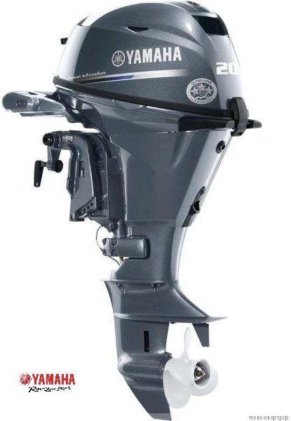 Лодочный мотор Yamaha F 20 BES - 4х-тактный