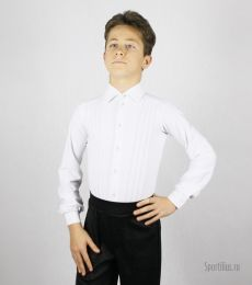 Рубашка для танцев с защипами
