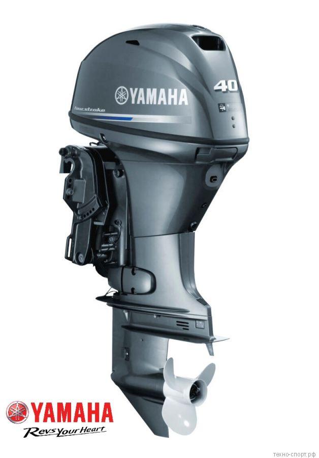 Лодочный мотор Yamaha F 40 FEDS - 4х-тактный (инжектор)