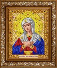 ИС-4048 Славяночка. Пресвятая Богородица Умиление в золоте. А4 (набор 875 рублей)