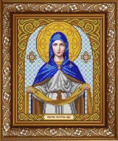 Славяночка ИС-4008 Пресвятая Богородица Покров схема для вышивки бисером купить оптом в магазине Золотая Игла