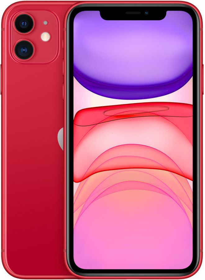 Apple iPhone 11 256Gb (Red) (MHDR3RU/A)