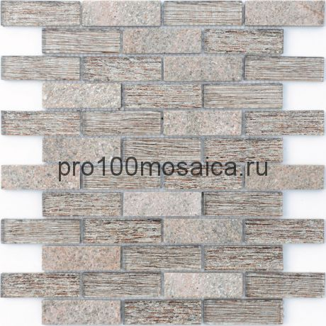 Мозаика Naturelle - Corcovado 26x29,8х0,8 см (чип 23х73х8 мм)