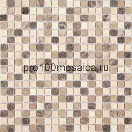 Мозаика Pietrine - Pietra Mix 1 матовая 30,5x30,5х0,4 см (чип 15х15х4 мм)