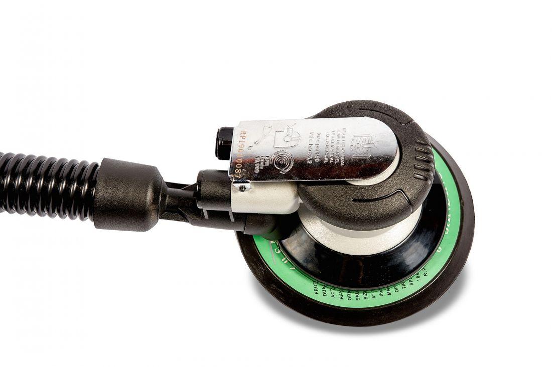 RongPeng Пневматическая шлифовальная машинка 6*, вал эксцентрика европейского производства, 150 мм.