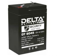 Аккумулятор Delta DT6045 Security series 6V 4.5 Ач