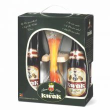 Пивной набор Pauwel Kwak 4*0,33 + бокал