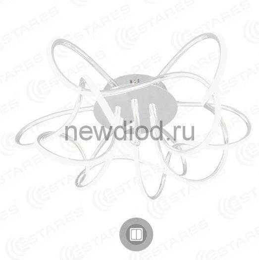 Неуправляемый светодиодный светильник LIANA MUSE 80W R-600-WHITE/OPAL-220-IP20/4000К