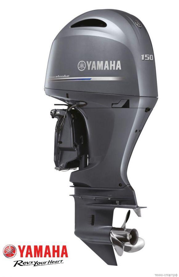 Лодочный мотор Yamaha F 150 DETL - 4х-тактный