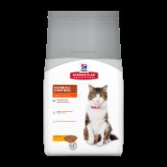 Hill's Feline Adult Hairball Control Chicken - Для взрослых кошек (профилактика волосяных комочков) (1,5 кг)