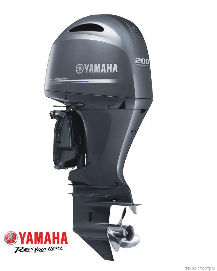 Лодочный мотор Yamaha F 200 FETX - 4х-тактный