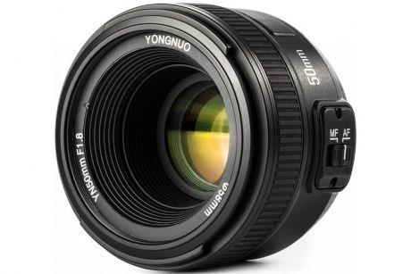 Объектив YongNuo AF 50mm f/1.8 Nikon F
