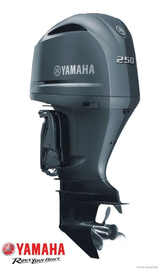 Лодочный мотор Yamaha F 250 DETU - 4х-тактный (V6)