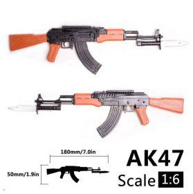 Сборная модель автомата АК-47 1:6