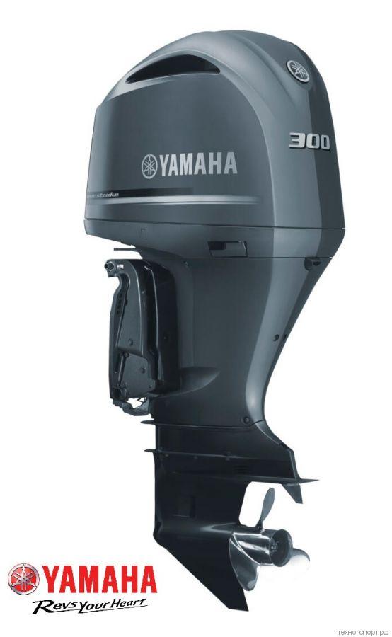 Лодочный мотор Yamaha F 300 BETU - 4х-тактный  (V6)