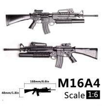 Сборная модель автомата M16A4 1:6