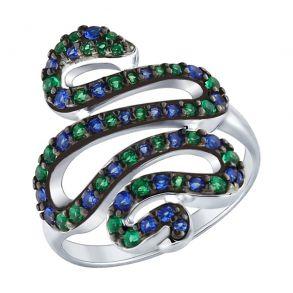 Кольцо «Змея» 94012586 SOKOLOV