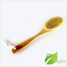 Щетка банная натуральная для тела Кактус (Тампико) 390*80*16 215 пучков , бук