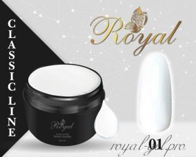 K01 Royal CLASSIC гель краска 5 мл. (Белая)