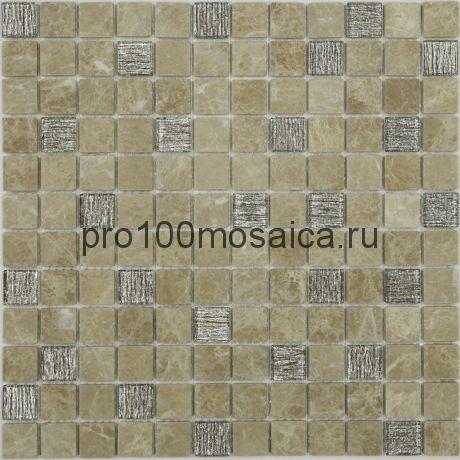 Мозаика Bronze Velour 29,8х29,8x0,4 см (чип 23х23х4 мм)