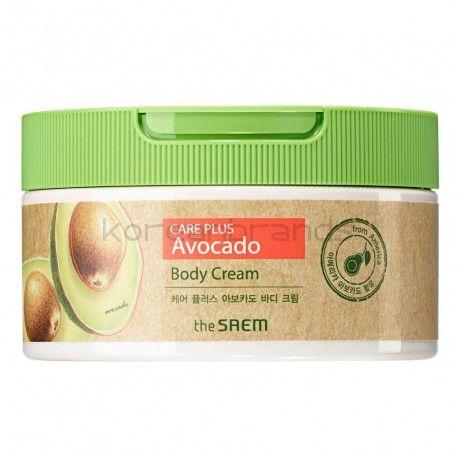 the SAEM Care Plus Avocado Body Cream, 300 мл