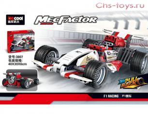 Конструктор  DECOOL Technic MecFactor Формула F1 3807 (Аналог LEGO Technic) 377 дет