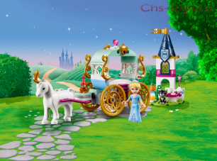Конструктор Lari Happy Princess Карета Золушки 11174 (41159) 92 дет
