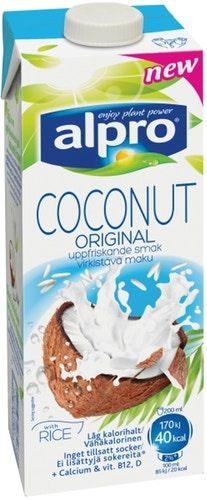 Напиток кокосовый Alpro Original без глютена 0.9% 1л