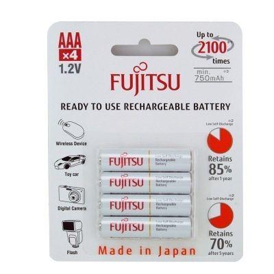 Аккумуляторы AAA Fujitsu 800mah NiMH (полный аналог Eneloop)