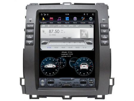 Witson Toyota Land Cruiser Prado 120 2002-2009 (TZ1116X)