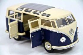 Машина игрушка металл Volkswagen Classical Bus 1962 1:40