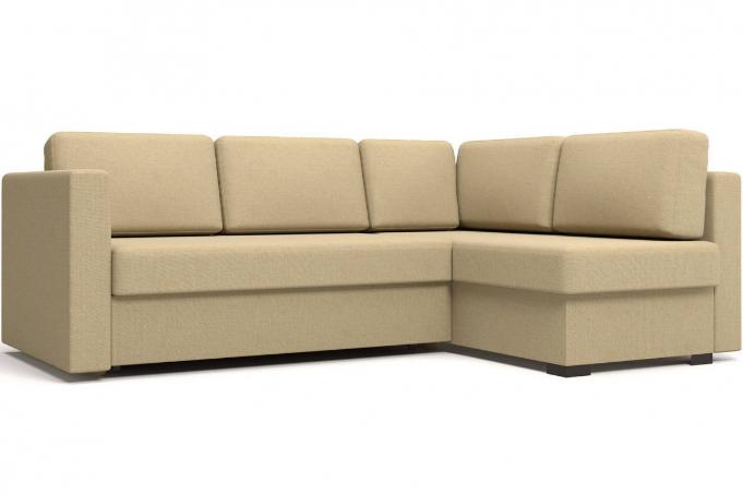 Джессика 2 (15) диван угловой правый (УП) RE 10
